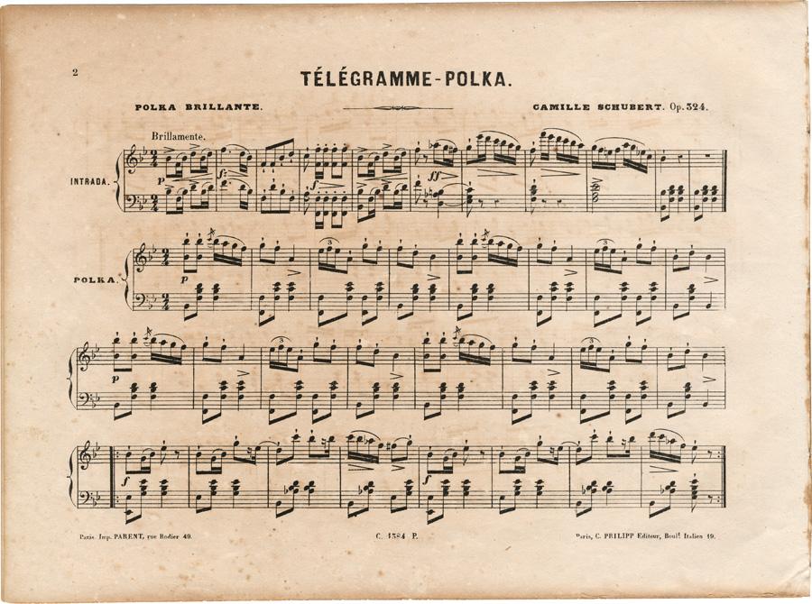 telegramme polka