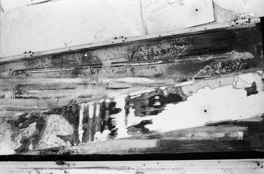 demolition site, Pasadena, ca 1972