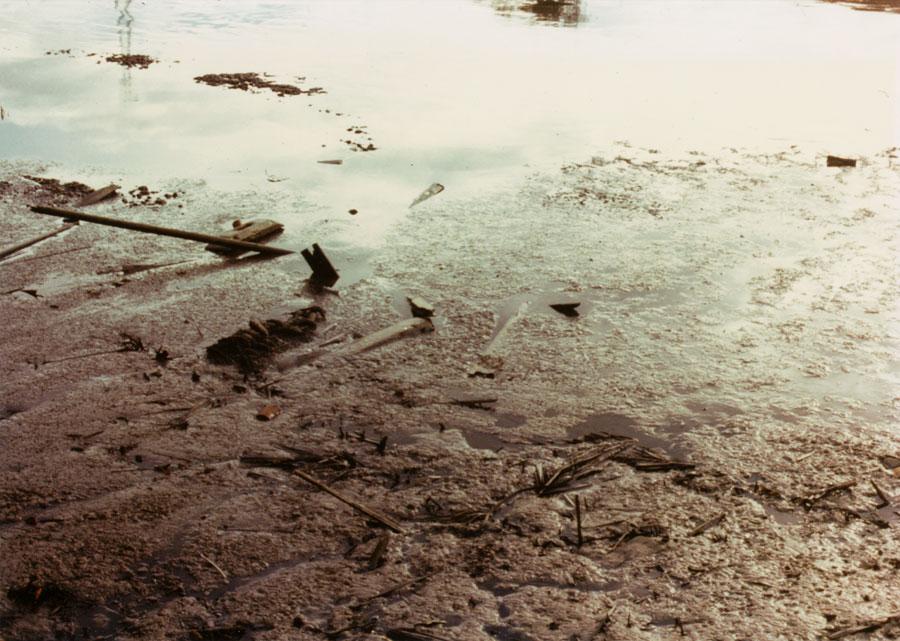 Malacca, skeletal boat, 1977