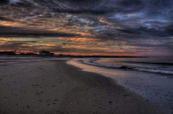 Hampton Beach, An image I took during a sunset at Hampton Beach